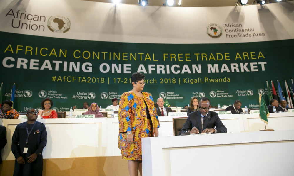 The leaders spoke during a high-level presidential dialogue on day two of the African Development Bank's 2019 Annual Meetings