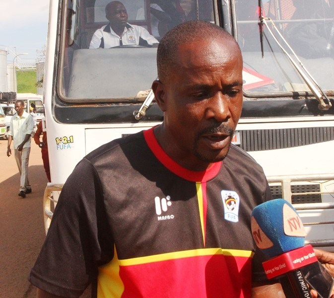 Police FC head coach Abdallah Mubiru was tipped to take over at Wakiso Giants FC before the season started. (PHOTO/File)