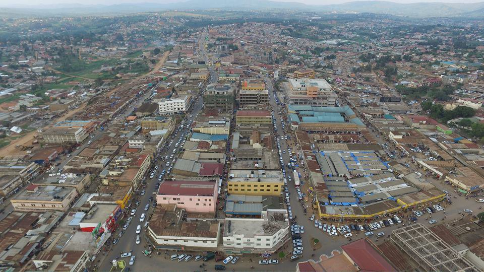Aerial view of Mbarara Town, one of the approved cities. (PHOTO/File)