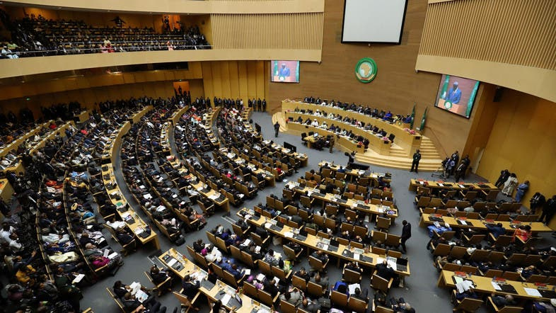 African Union in a meeting. Resolves to suspend Sudan over violence. (PHOTO/File)