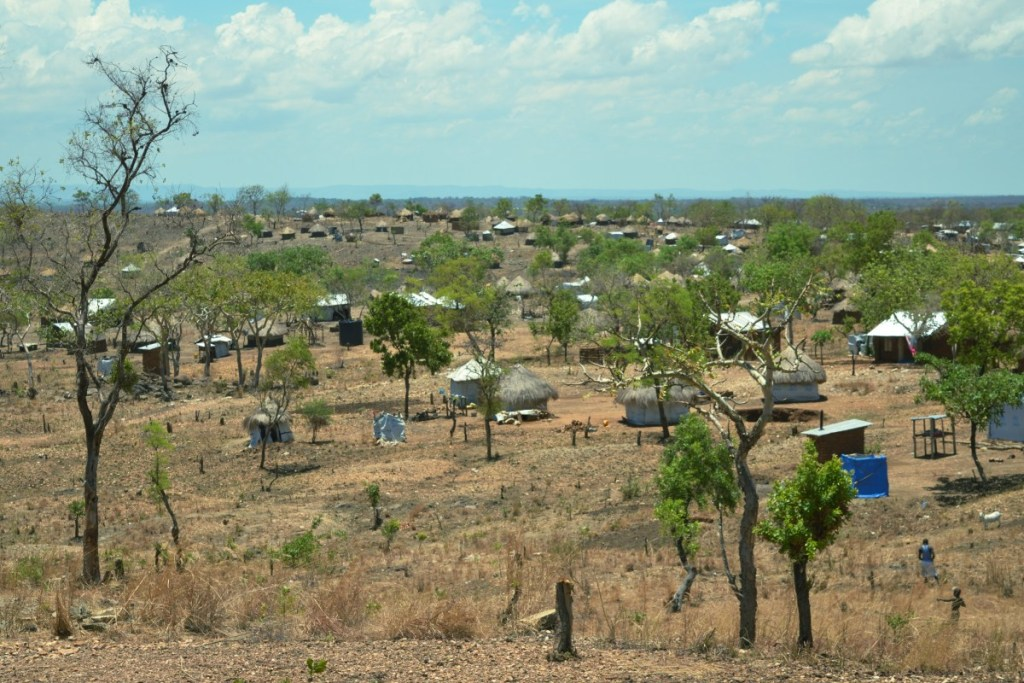 A view of Omugo refugee settlement in Arua District in Uganda. (PHOTO/UNHCR)