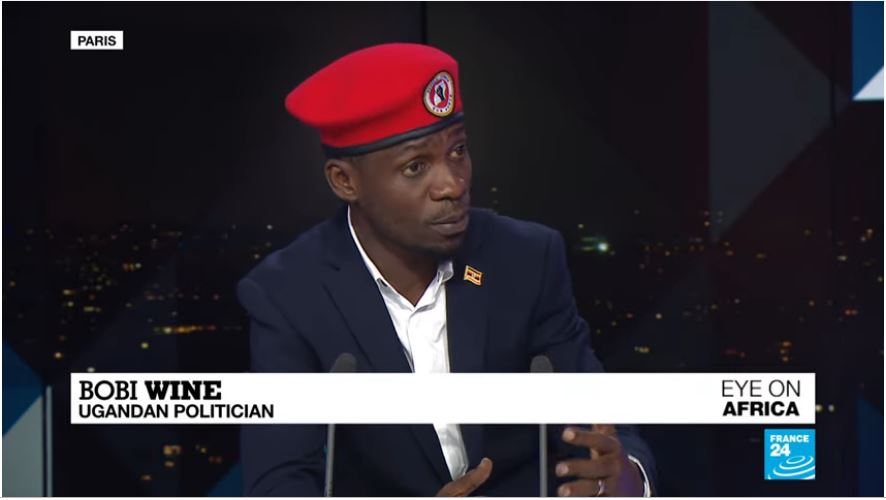 Bobi Wine says that media reports  the he would reinstate death penalty is misleading