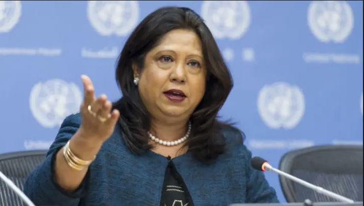 Pramila Patten, United Nations special representative of the secretary-general on sexual violence in conflict.