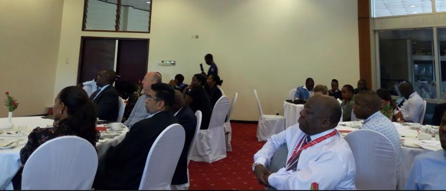 Some of the guests attending the Trademark East Africa UK Business Meeting at Serena Hotel, Kampala( Photo / Abraham Mutalyebwa)