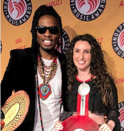 Rapper GNL Zamba wins Best Worldbeat Award for his song 'Leo Ni Leo.' PHOTO/File)