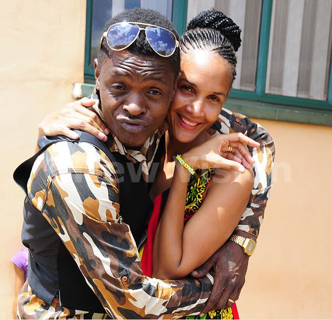 Singer Jose Chameleone and Wife Daniella. (PHOTO/File)