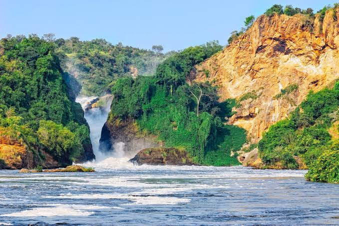 A scenical view of the Murchison Falls. Conservationists have signed a petition barring President Museveni's move to set up a hydro-power dam in the catchment area. (PHOTO/File)