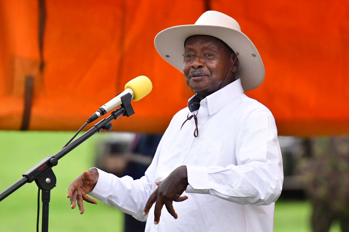 President Yoweri Kaguta Museveni will meet also pastors and evenglists in Kampala on Monday. (PHOTO/File)