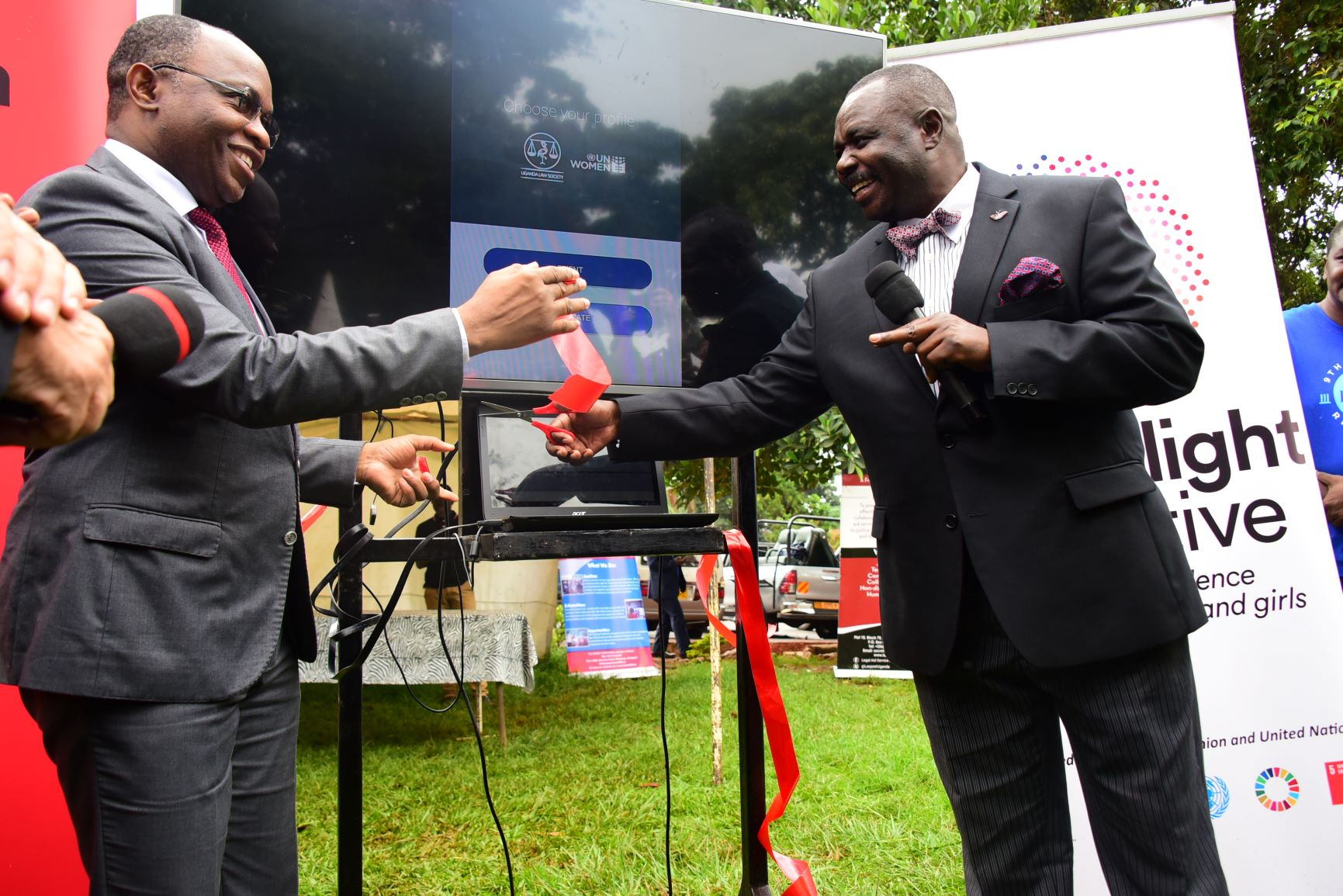 Deputy speaker Jacob oulanyah was the Chief Guest to Uganda Law Society 9th Annual Regional Pro Bono Day which was held at the Railways Gardens, Jinja Road. (PHOTO/File)