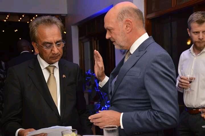 UK Prime Minister's Trade Envoy to Uganda Lord Dolar Popat.