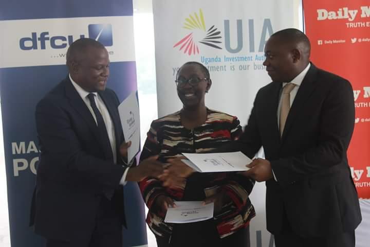 Katamba, Ms. Magyezi and Omolo.