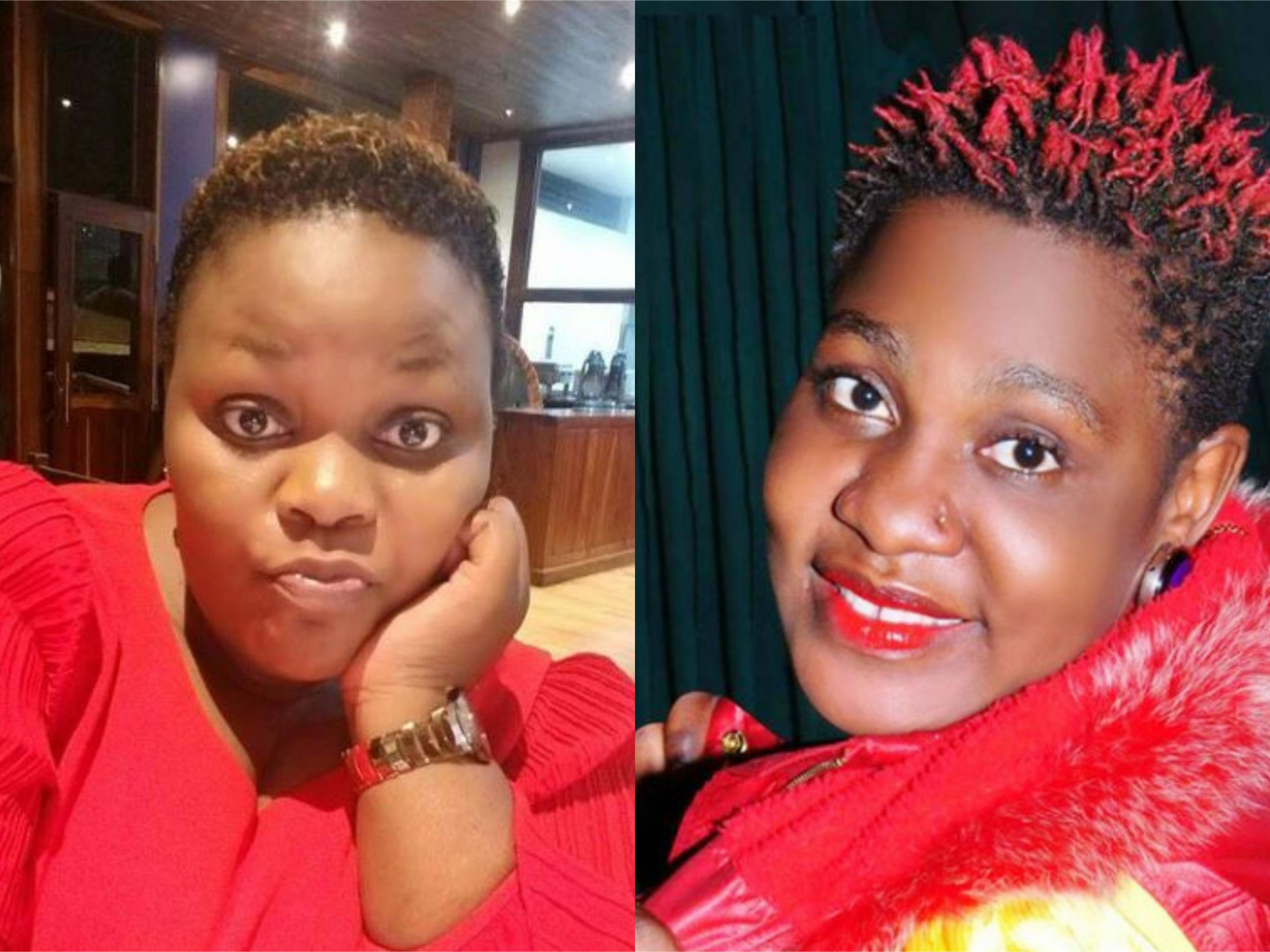 Singers Catherine Kusasira and Full Figure respectively. (PHOTO/File)