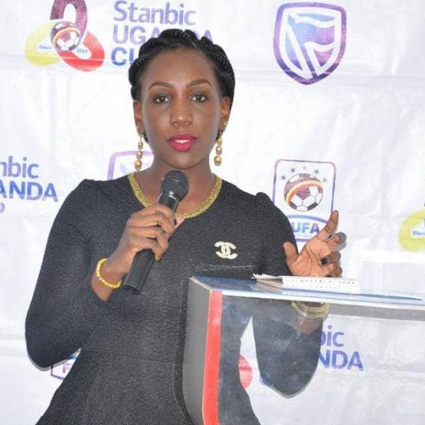Leilah Nankya will be one of several Ugandans on duty at the 2019 AFCON. (PHOTOS/FUFA)