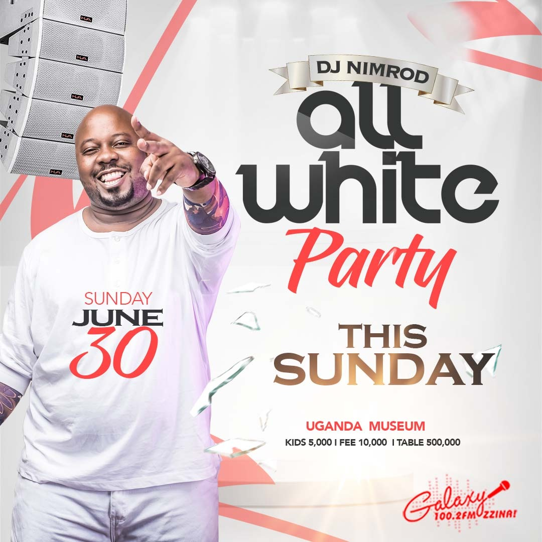 All White Party this sunday