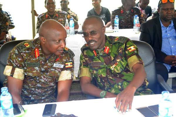 Long-serving airforce Chief of Staff Major General James Birungi has been named new commander of elite unit, SFC. He replaces Major Don Nabaasa who has been sent on a course at the National Defence College of China. (PHOTO/File)