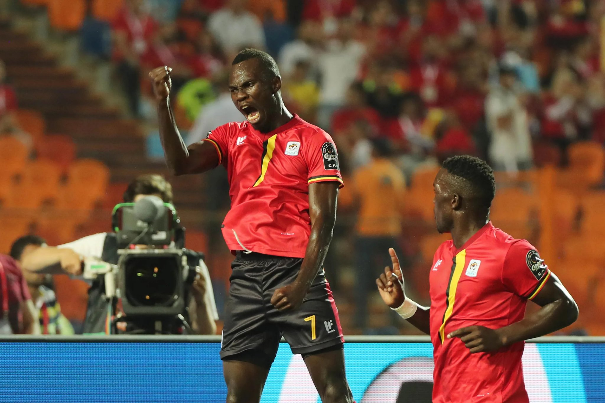 The Cranes finished second in group B.