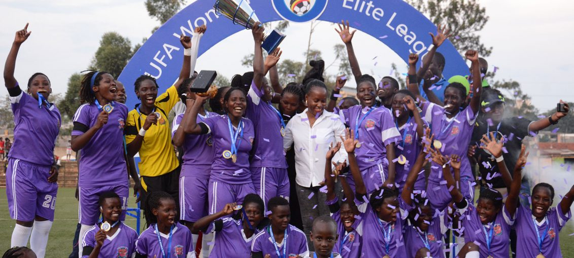 This is UCU's first ever League title. (PHOTOS/FUFA)