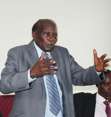 Former Supreme court Justice George Kanyeihamba has Passed on at age 80 (PHOTO/File)