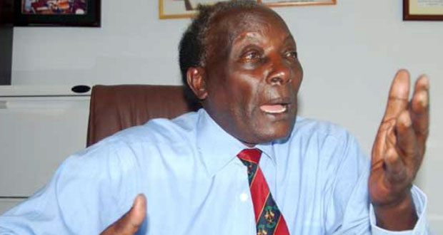 Justice George W. Kanyeihamba has expressed worries that his life is at jeopardy. (PHOTO/File)