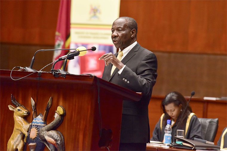 Finance Minister  Matia Kasaijja, will this deliver the National Budget Speech. (PHOTO/File)