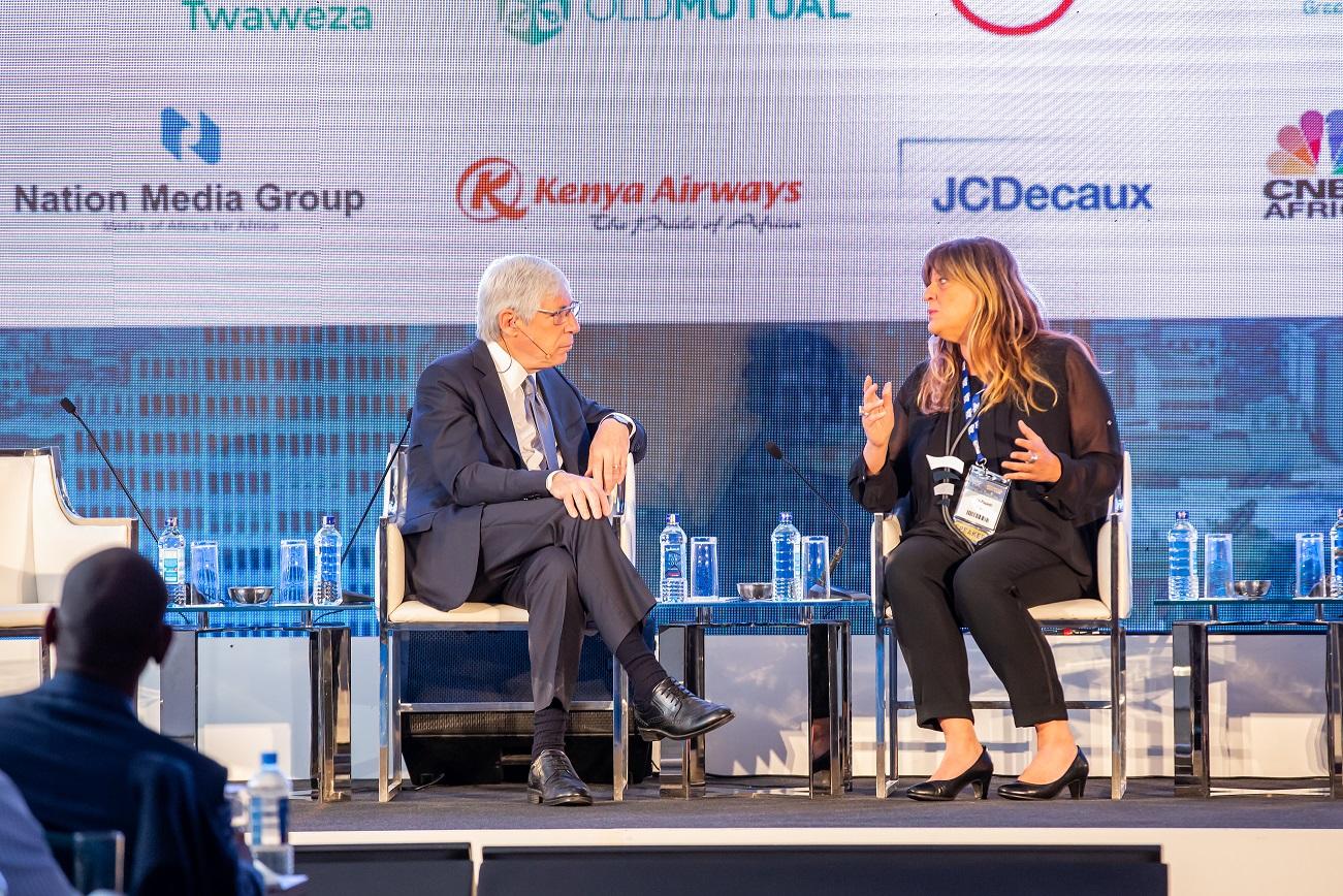 Mark Kramer & Maria Cristina Papetti - 2019 Africa Shared Value Summit