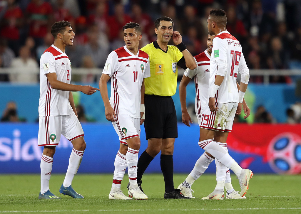 Morocco were eliminated at the quarter finals in the 2017 AFCON. (PHOTOS/AGENCIES)