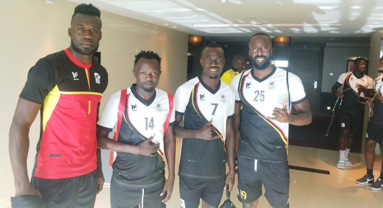 Odongokara (L) and Mukiibi (R) are the latest arrivals in the Uganda Cranes camp. (PHOTOS/AGENCY)