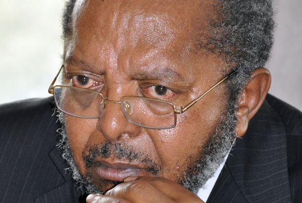 Prof. Tumusiime Mutebile, the long serving Governor Central Bank (PHOTO/File)