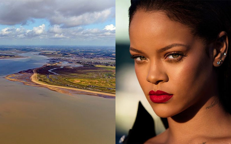 Singer Rihanna rented entire Osea island as hideaway to record new music. (PHOTO/File)
