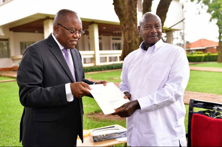 President Museveni and Mr. Laurenco of Angola. (PHOTO/PPU)