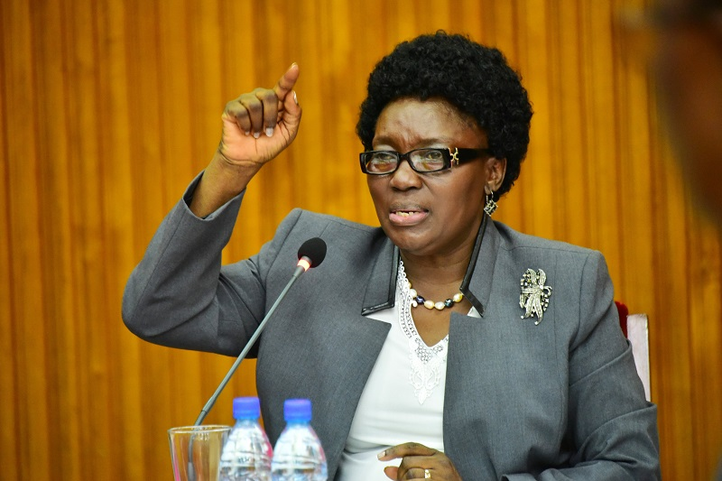 Speaker Rebecca Kadaga has expressed concerns over the confusion that bogged the budgeting process