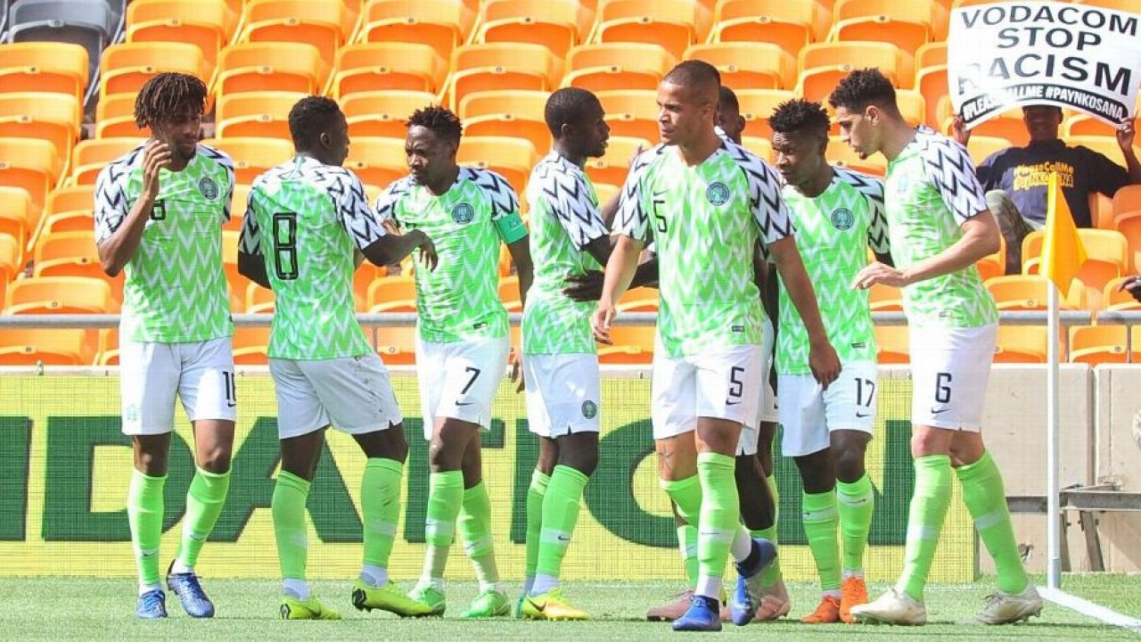 Nigeria lost their last group game.