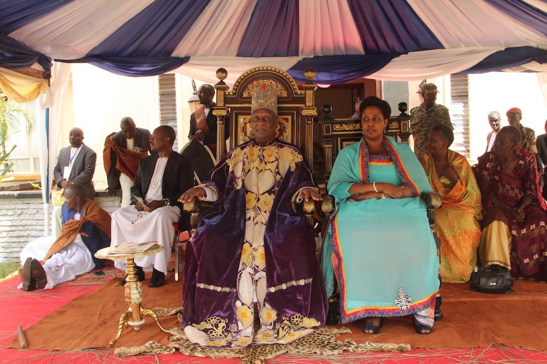The Omukama of Bunyoro marked his 25th coronation anniversary