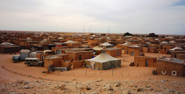 Sahrawi refugees live in the desert, in a remote and isolated area, with limited opportunities for economic activity or employment