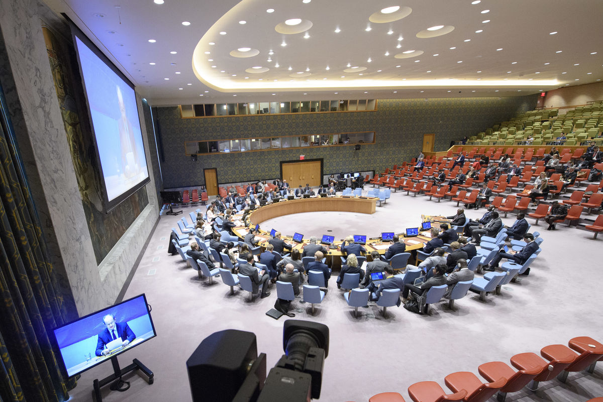 UN Security Council briefing recently (PHOTO/File)