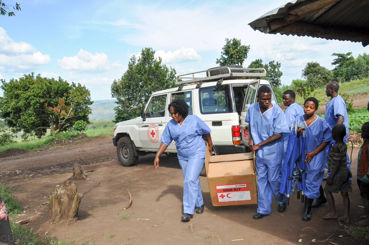 This is the first case that has spread over #DRCongo's border. Red Cross teams have been preparing and will intensify support to help prevent its further spread.