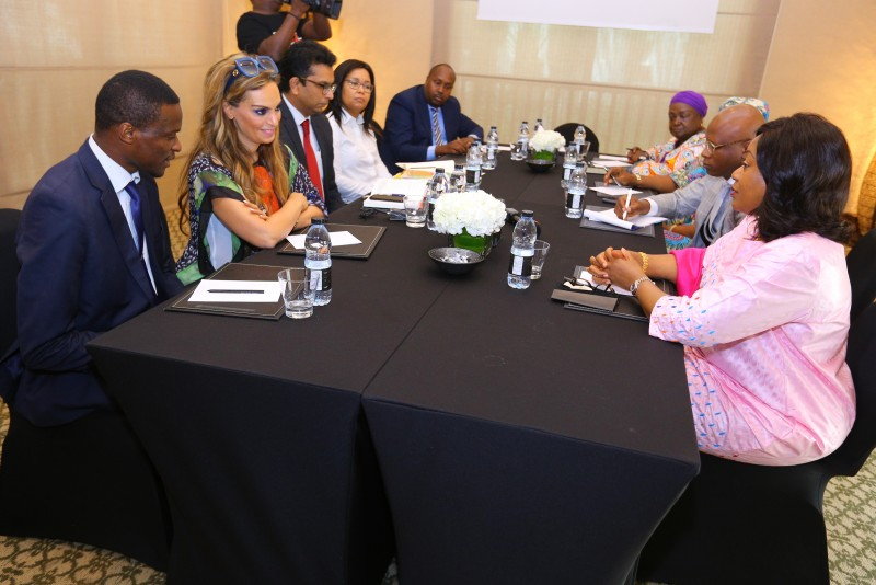 Merck Foundation meets the First Lady to plan the launch of their programs in the country. (PHOTO/Courtesy)