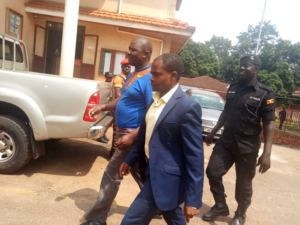 BoU employees Francis Kakeeto and Fred Wanyama were remanded to Luzira Prison over abuse of office and corruption by the Anti Corruption Court in Kampala.  (PHOTO/File)