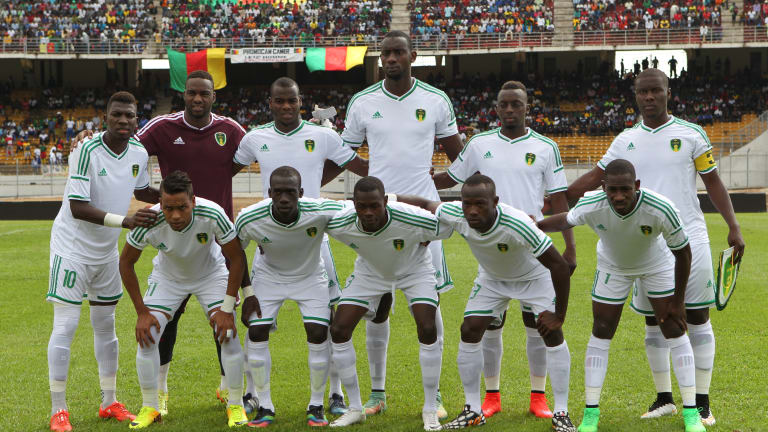 Mauritania are taking part in their first AFCON tournament.