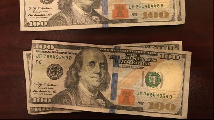 Dollar counterfeit.
