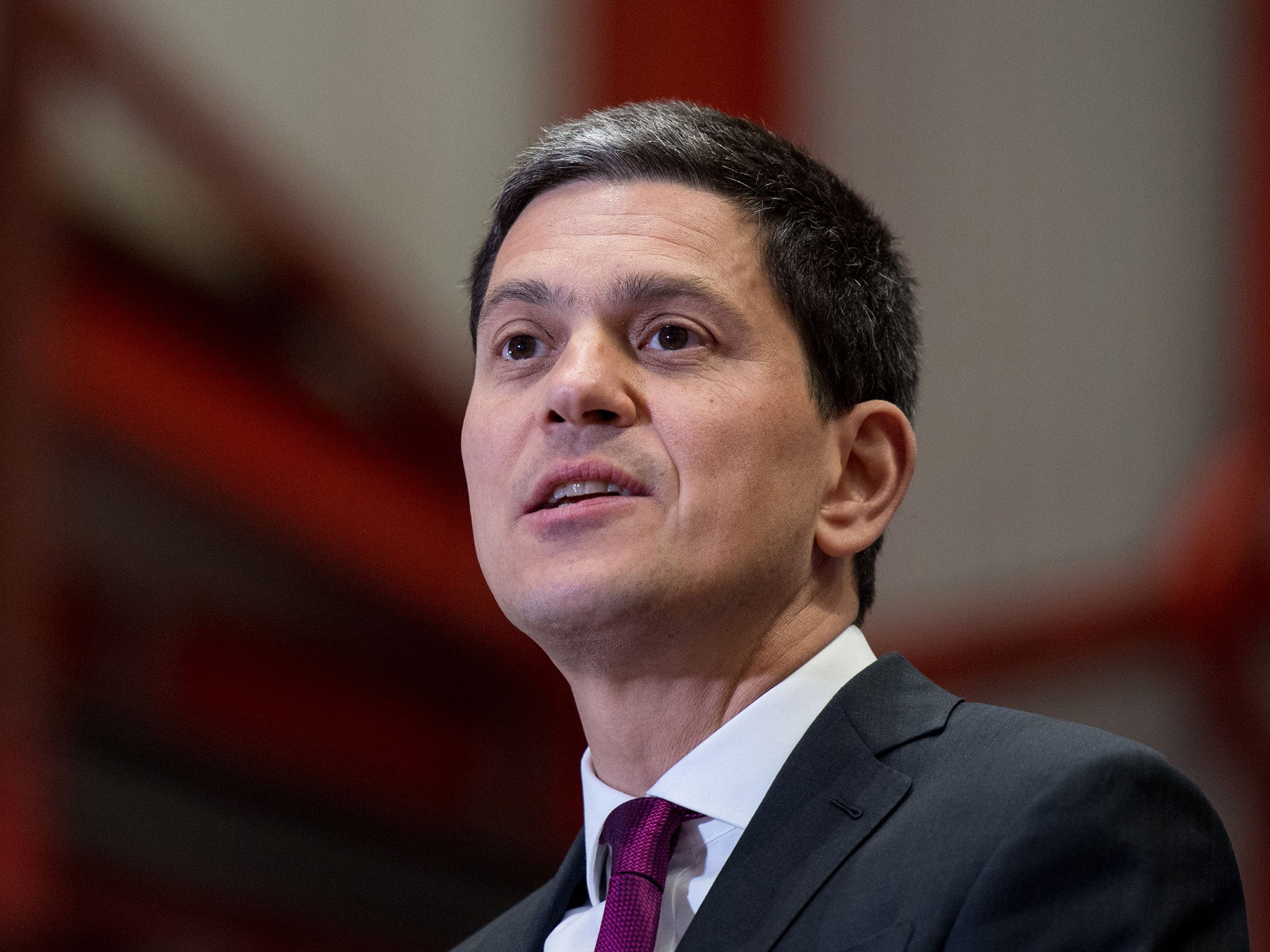 David Miliband, the International Rescue Committee (IRC) President and CEO