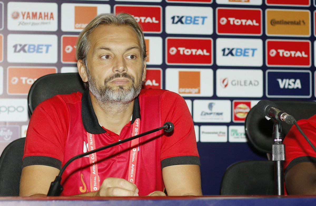 Desabre is optimistic about a good result against Egypt.