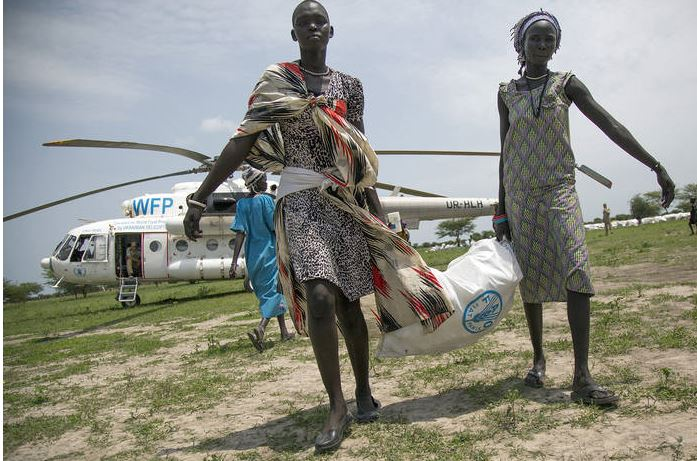 A joint rapid response to provide life-saving food and livelihoods supplies to communities in South Sudan. The number of people facing a critical lack of food in the country is the highest ever, FAO, UNICEF and WFP warn. (PHOTO/WFP)