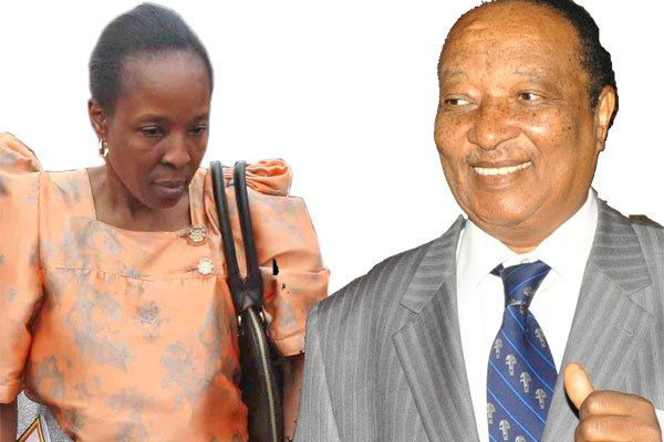 Ms Ruth Nakimuli Kasujja, who former Prime Minister Apolo Nsibambi, chose as heiress. The act has since sparked public debate on the position of the girl-child when it comes to family succession. PHOTO BY Joseph Kiggundu Right