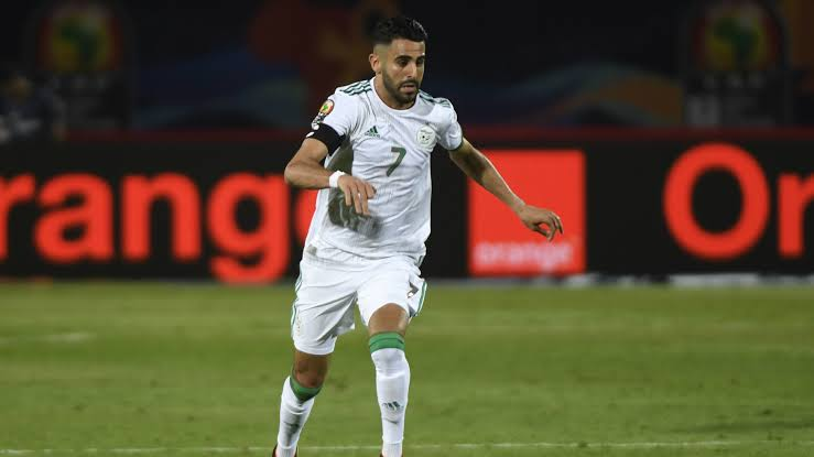 Mahrez scored three goals at AFCON 2019.