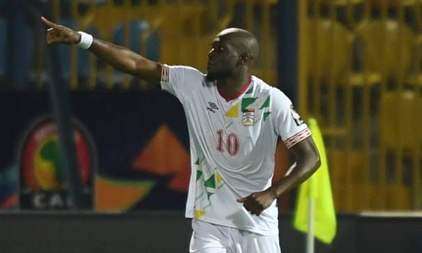 Mikael Pote scored twice as Benin held Ghana to a drew on Tuesday night. (PHOTOS/Agencies)