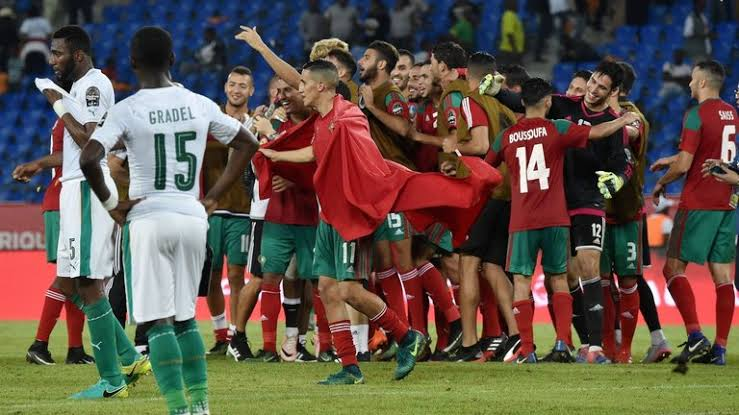 This was Morocco's second win at the 2019 AFCON finals. (PHOTOS/Agencies)