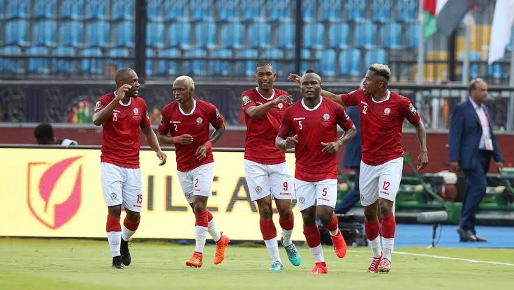 Madagascar finished as Group B winners with 7 point. (PHOTO/Agency)