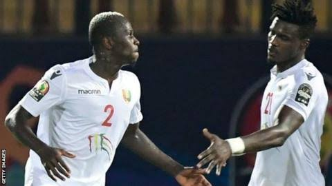 Guinea finish third in Group B. (PHOTOS/Agencies)