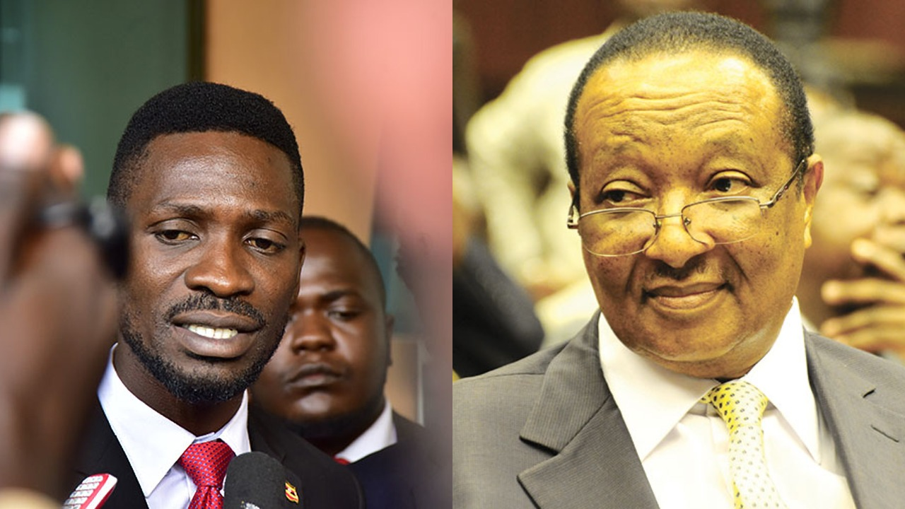 Kyadondo East MP Robert Kyagulanyi alias Bobi Wine has eulogized fallen former Prime Minister Rt. Hon. Prof Dr. Apolo Robin Nsibambi as an incorruptible leader. (PHOTO/PML Daily)